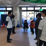現役Jリーガー田村選手が来てくれました。